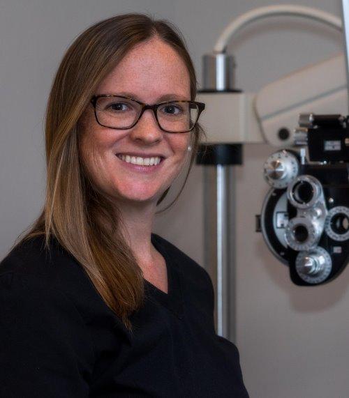 Angela Arsenault, Optometrist