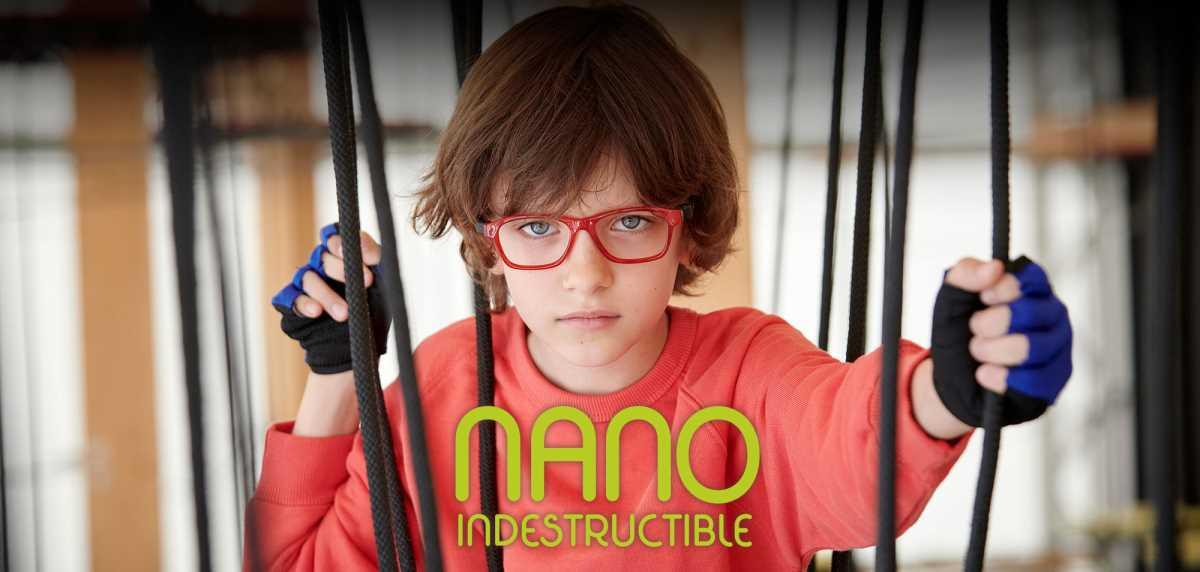 Boy wearing Nano eyewear