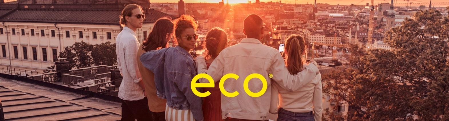 Eco eyewear banner